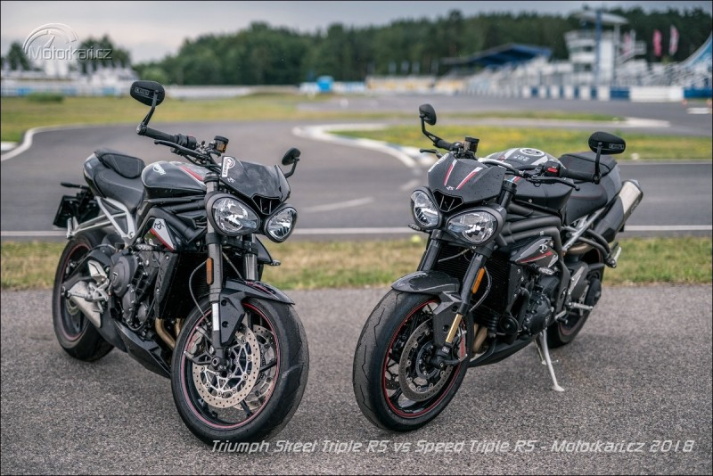 Video test Speed Triple RS x Street Triple RS